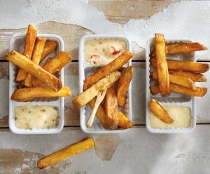 zelfgemaakte friet
