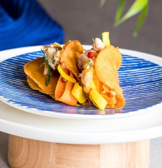 Koningsdag oranje taco's met Estée Strooker