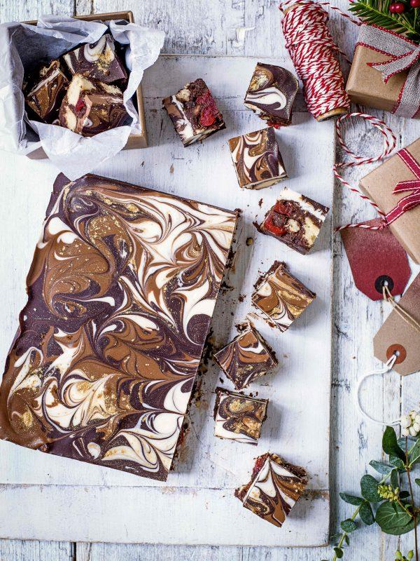 Chocoladeshortbread met Baileys