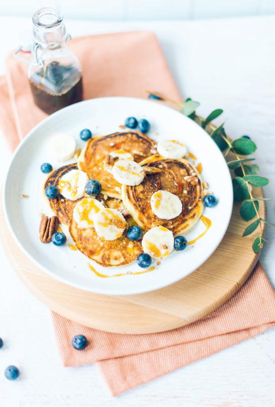 Cottagecheesepancakes uit The Breakfast Club