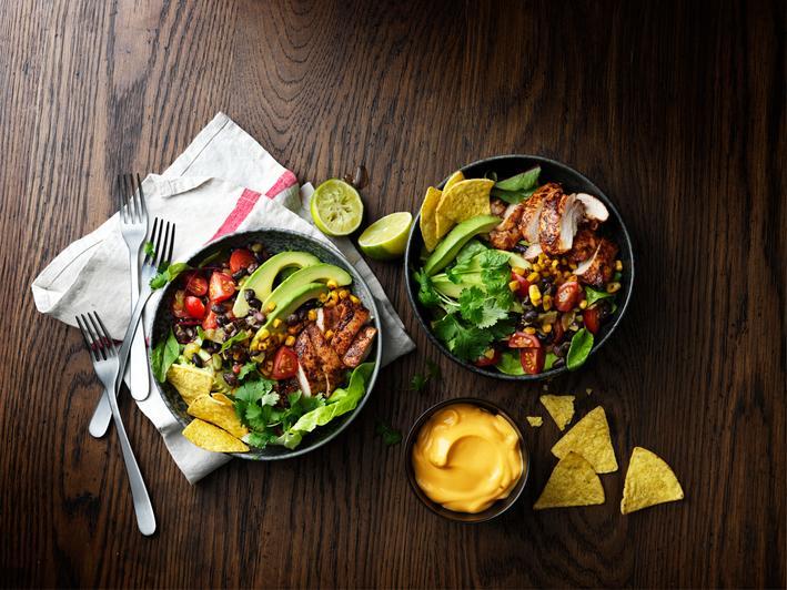 taco style kipsalade