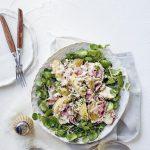 aardappelsalade met pastrami