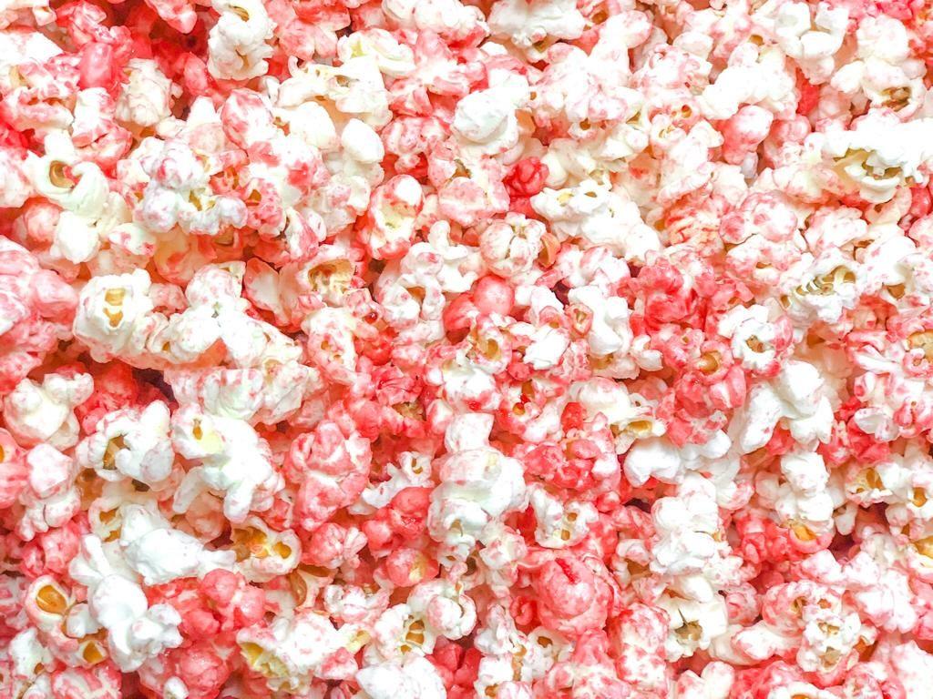 Roze popcorn