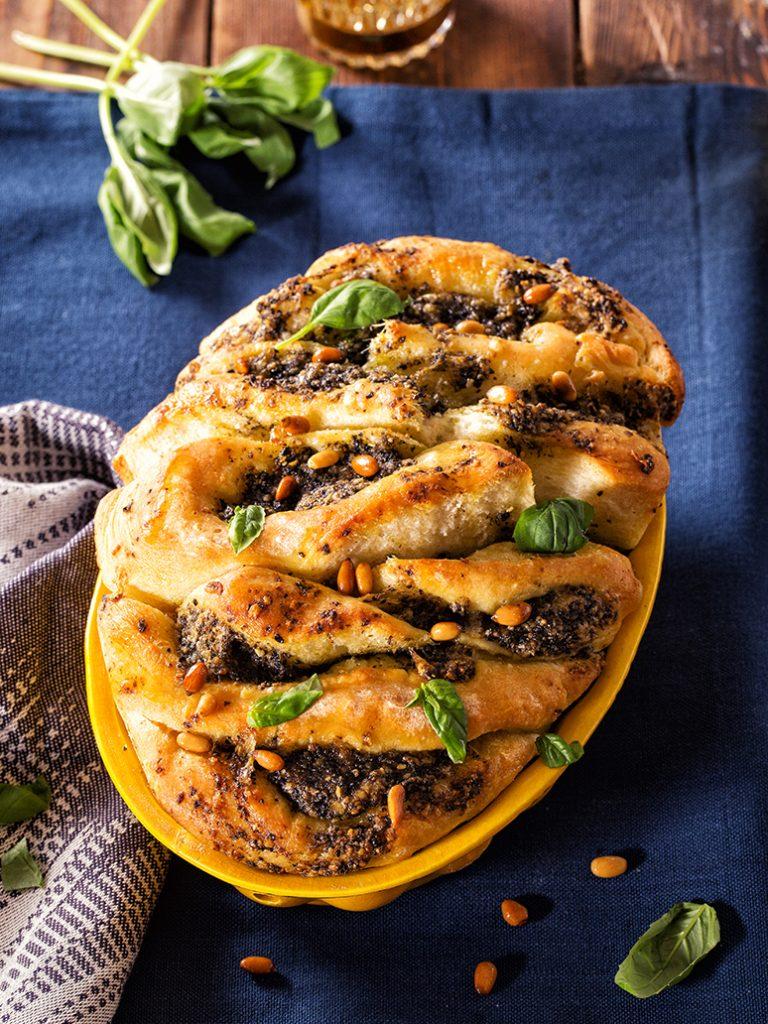 pesto-olijvenbrood