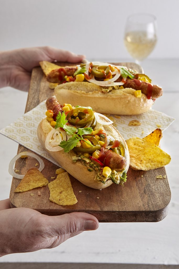 Hotdog Mexicaanse stijl