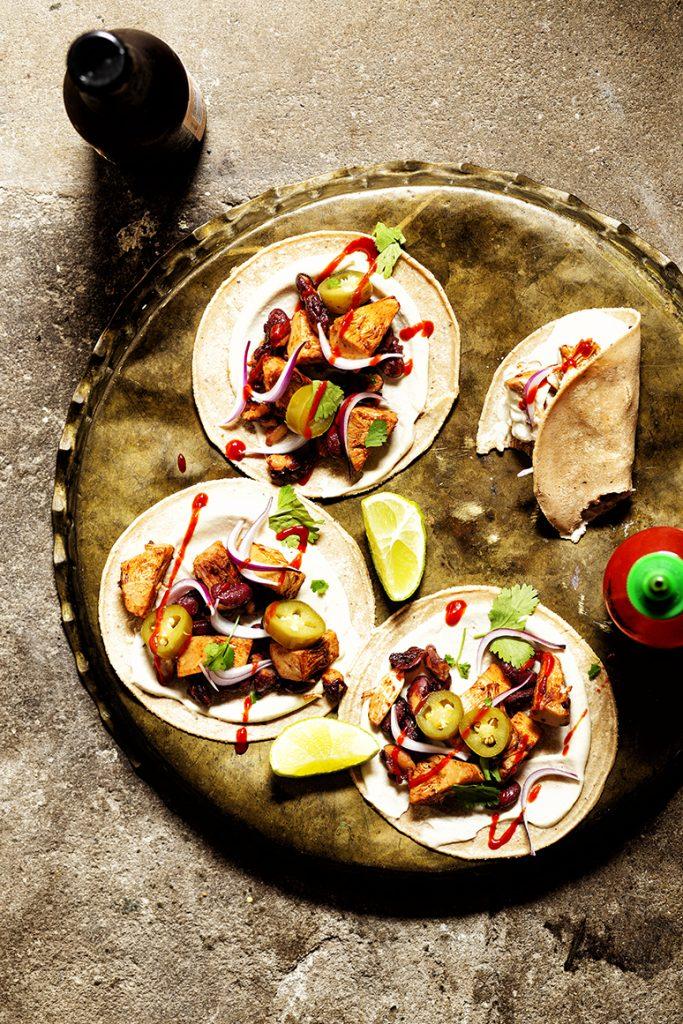 Taco's met chipotle-jackfruit