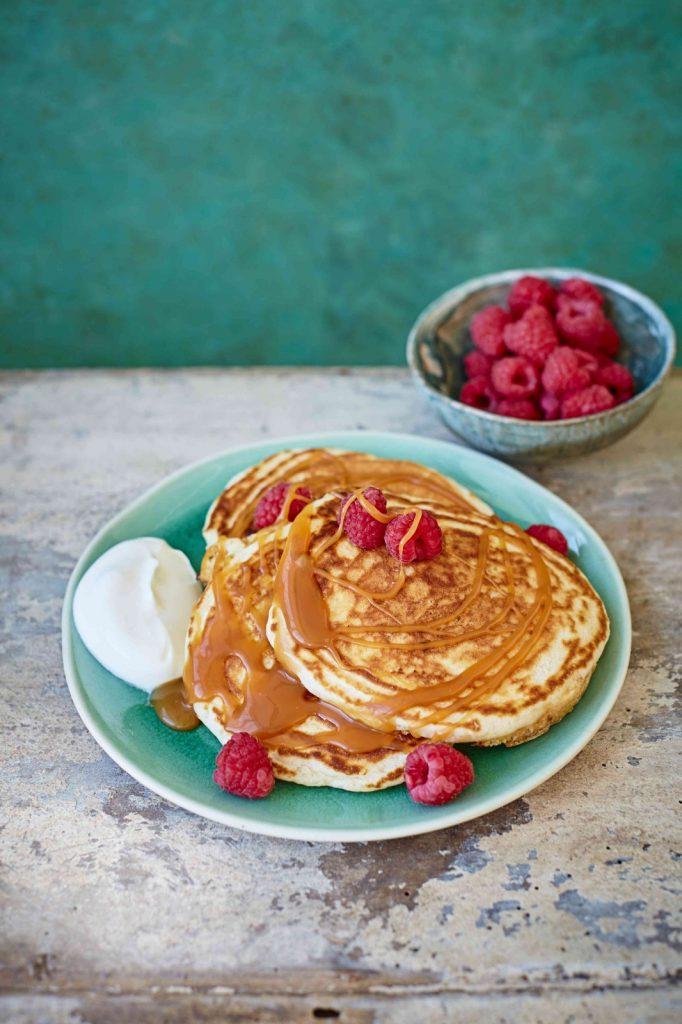 gevulde pancakes