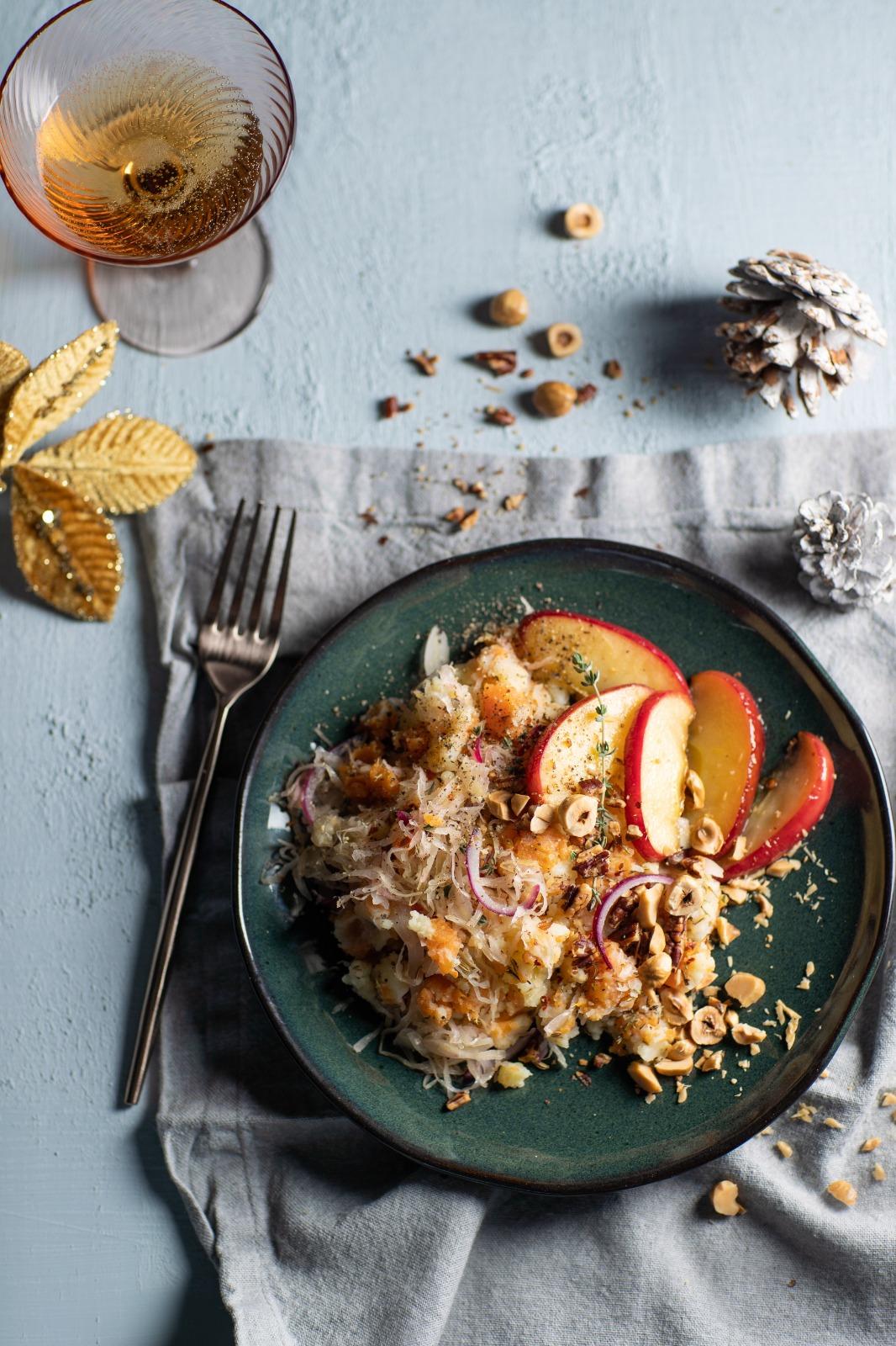 Zoete-aardappelstamppot
