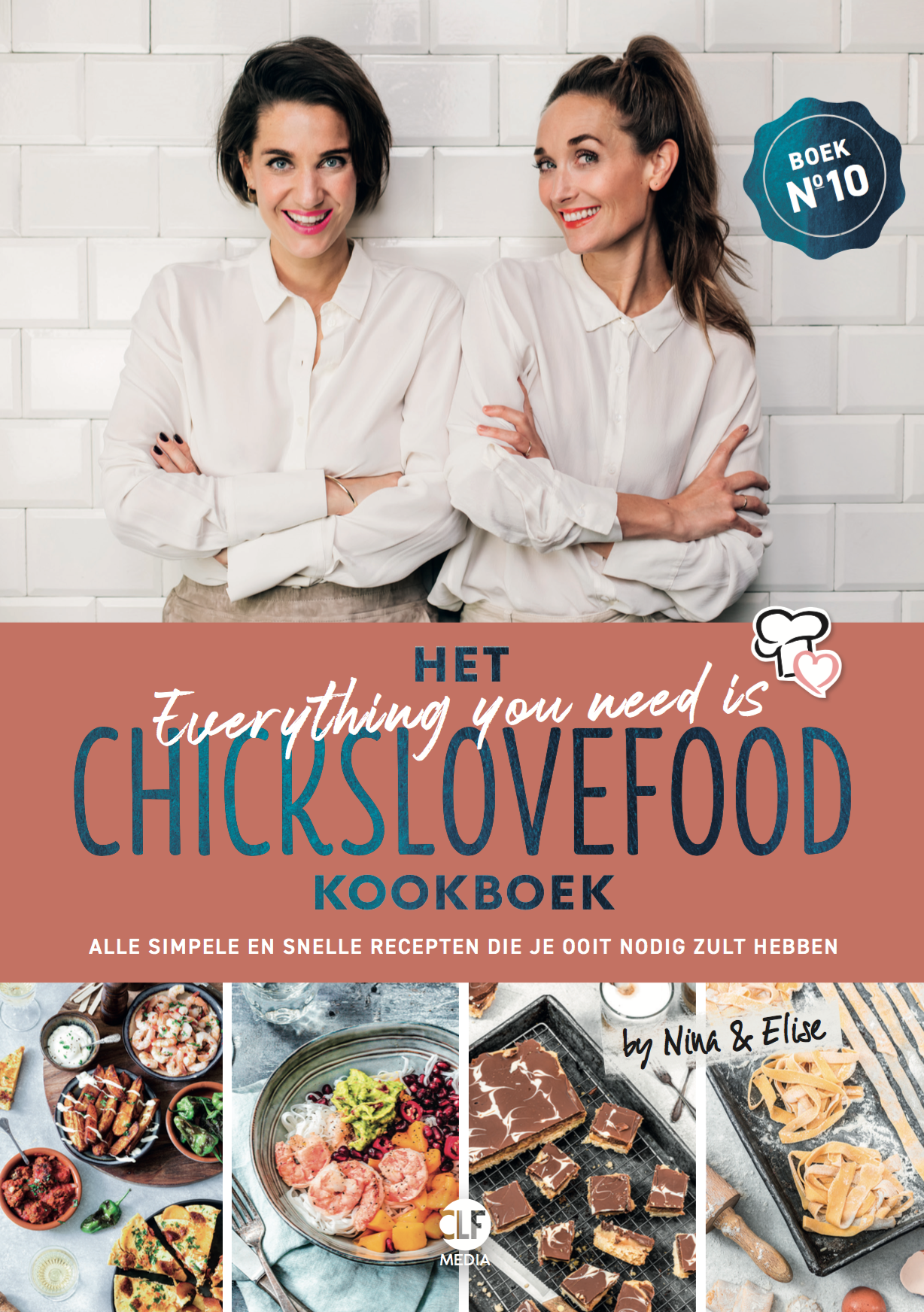 Het AYNI Chickslovefood kookboek