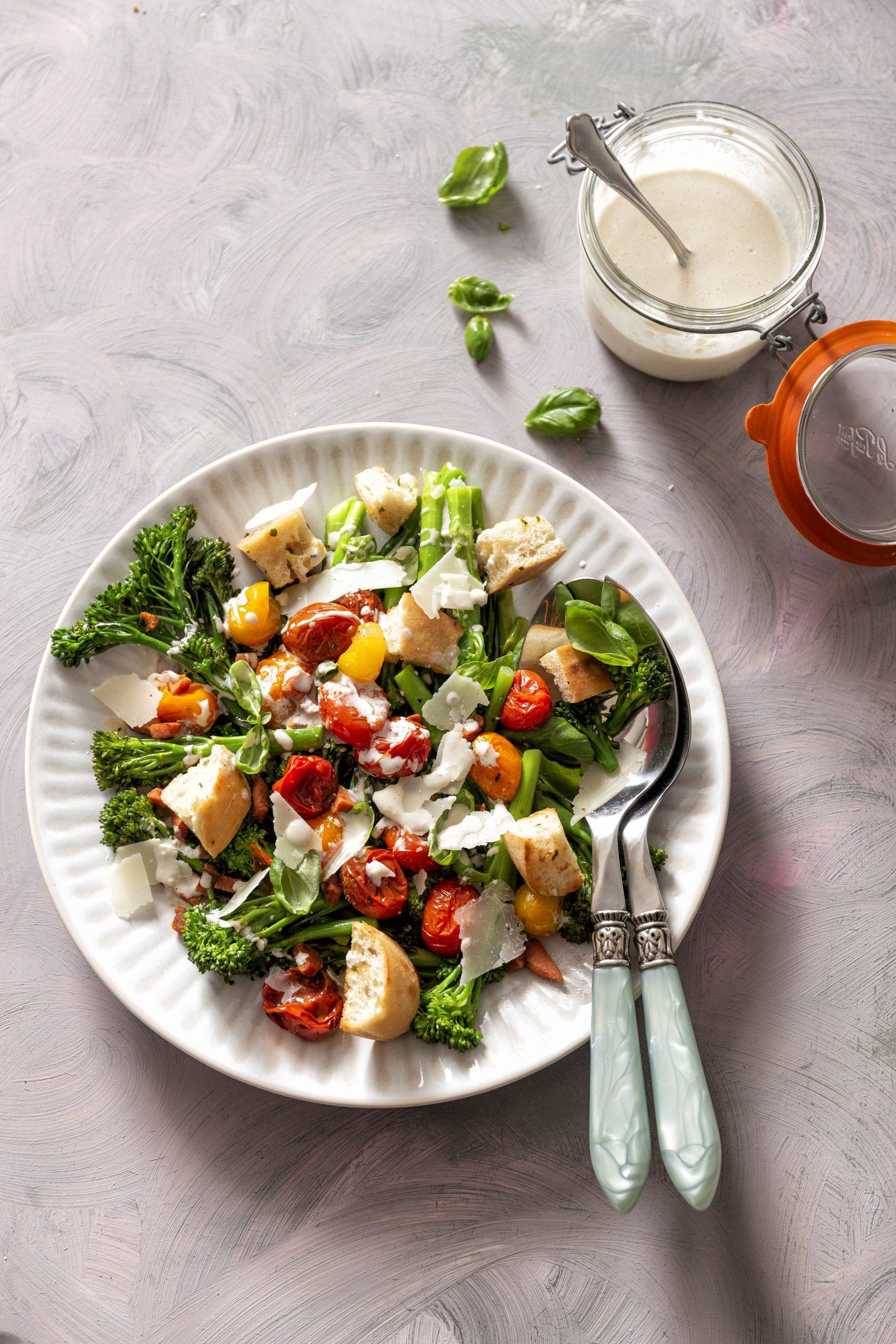 salade caprese met bimi