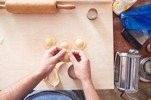 stap voor stap ravioli recept