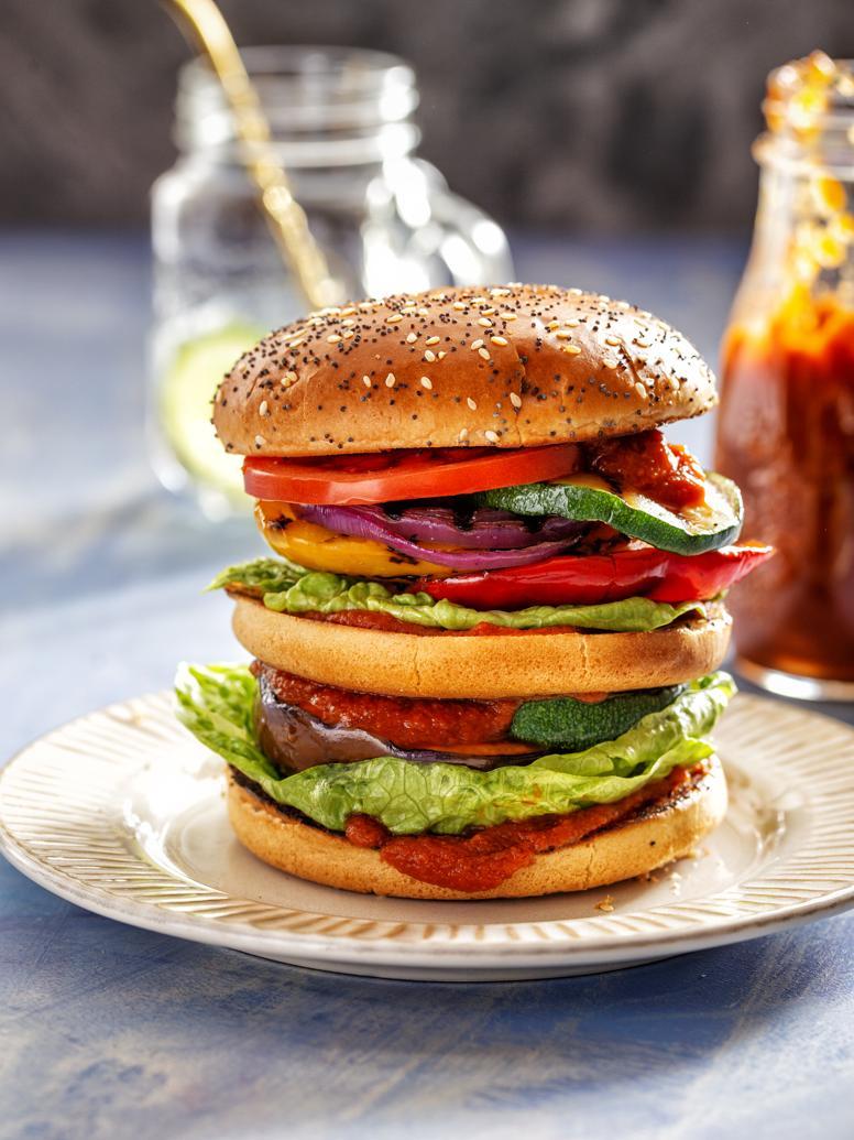 regenboogburger