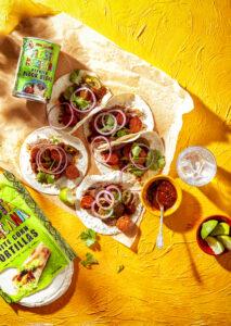 Mexicaans feestje Tortilla met chorizo, jalapeño's en chipotlesalsa