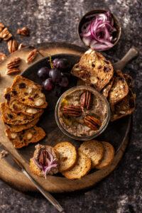 recepten voor vega paté Noten-linzenpaté