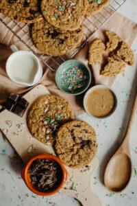 Vegan voor iedereen american cookies