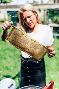Bijmegen honing met Yvonne