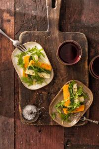 Laagjespaté met wortel bloemkool en spinazie