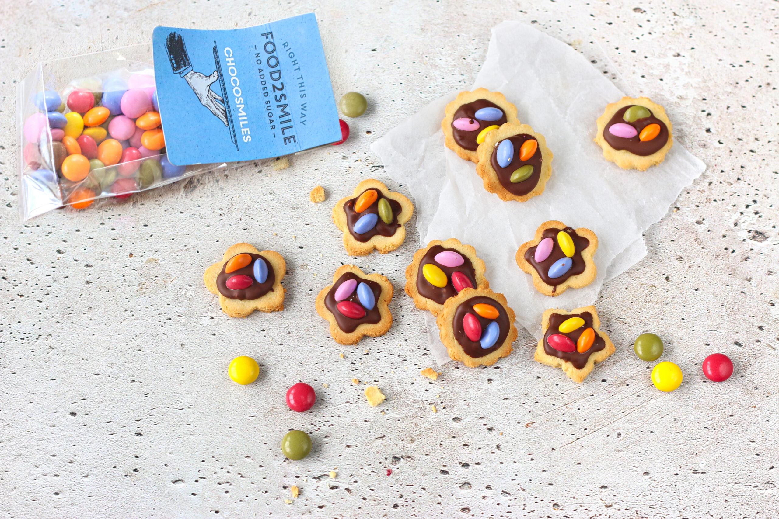 koekjes met chocosmiles bakken zonder toegevoegde suiker